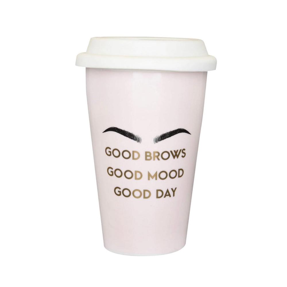 Good Brows China Travel Mug