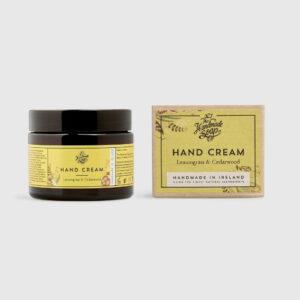 THE HANDMADE SOAP COMPANY HAND CREAM – LEMONGRASS & CEDARWOOD