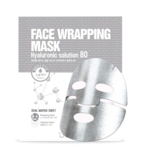 HYALURONIC SOLUTION 80 FACE WRAP MASK