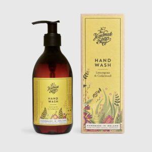 The handmade soap company HAND WASH – LEMONGRASS & CEDARWOOD